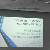 "Presentation Slide Titled ""The Myth of Ancient Sectarian Hatreds"""